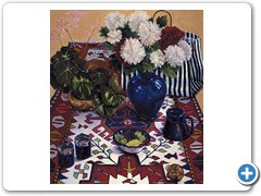 Still Life on an Oriental Rug